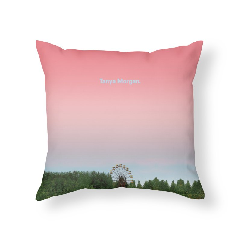Abandoned Theme Park Home & Accessories Home Throw Pillow by Tanya Morgan's Merch Shop