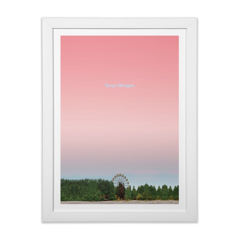 Abandoned Theme Park Home & Accessories Home Framed Fine Art Print by Tanya Morgan's Merch Shop