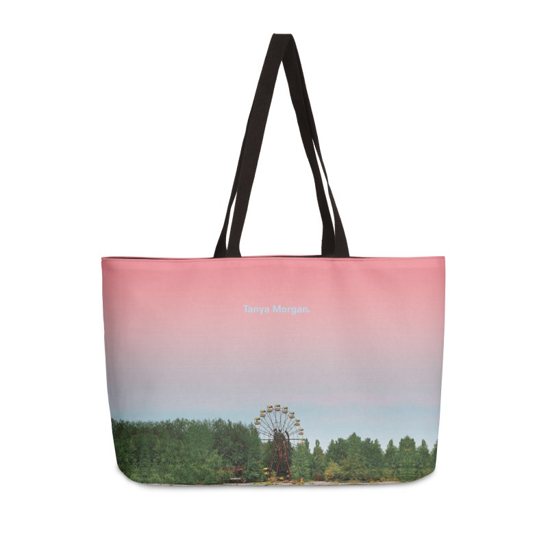 Abandoned Theme Park Home & Accessories Accessories Weekender Bag Bag by Tanya Morgan's Merch Shop