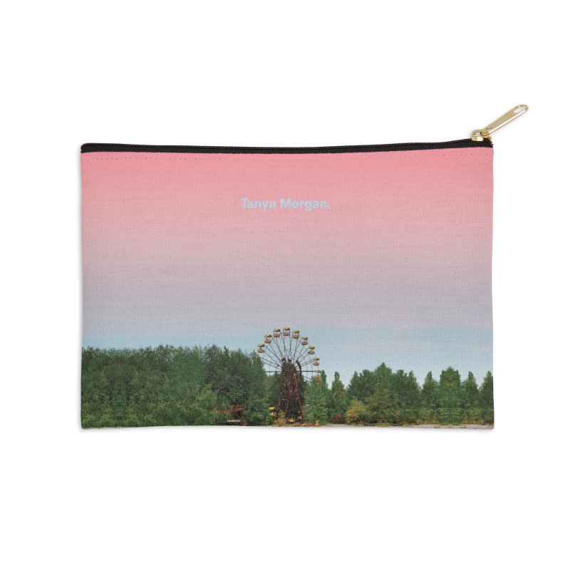 Abandoned Theme Park Home & Accessories Accessories Zip Pouch by Tanya Morgan's Merch Shop