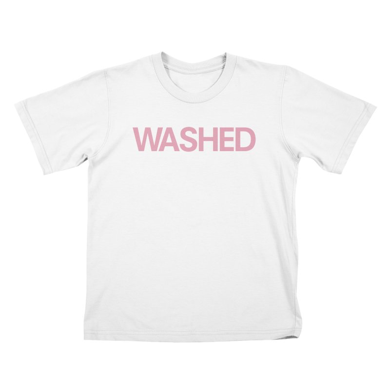 Abandoned Theme Park Washed Shirts Kids T-Shirt by Tanya Morgan's Merch Shop