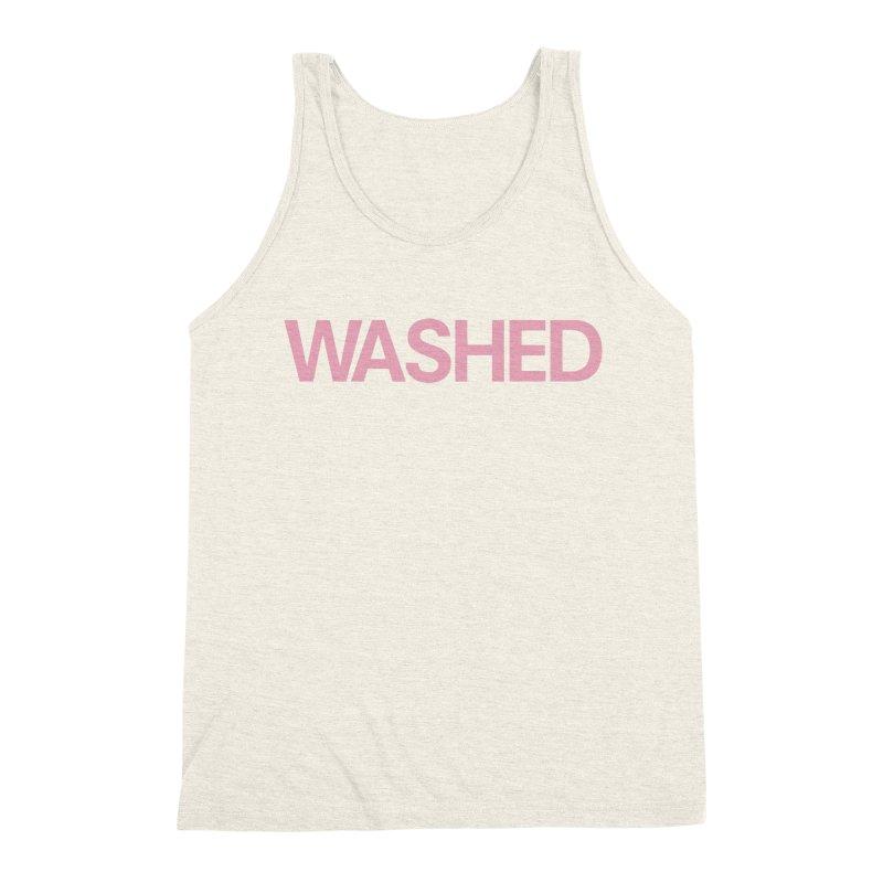 Abandoned Theme Park Washed Shirts Men's Triblend Tank by Tanya Morgan's Merch Shop