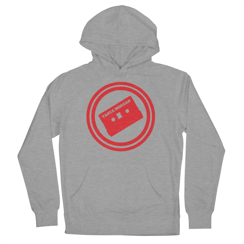 Red Tanya Morgan Logo Shirts Men's French Terry Pullover Hoody by Tanya Morgan's Merch Shop