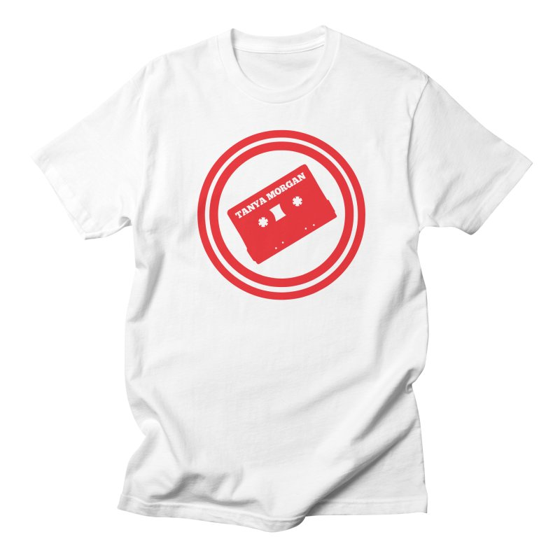 Red Tanya Morgan Logo Shirts Men's Regular T-Shirt by Tanya Morgan's Merch Shop