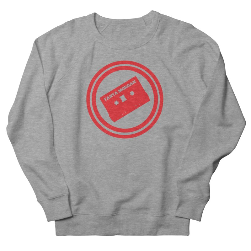 Red Tanya Morgan Logo Shirts Men's French Terry Sweatshirt by Tanya Morgan's Merch Shop