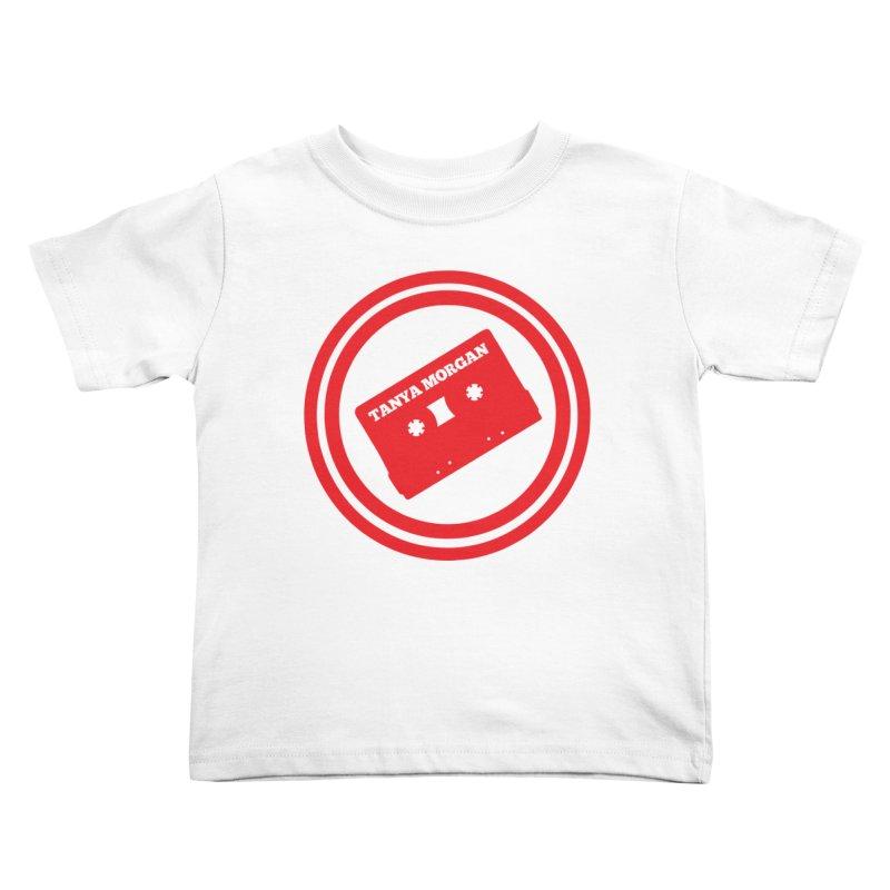 Red Tanya Morgan Logo Shirts Kids Toddler T-Shirt by Tanya Morgan's Merch Shop