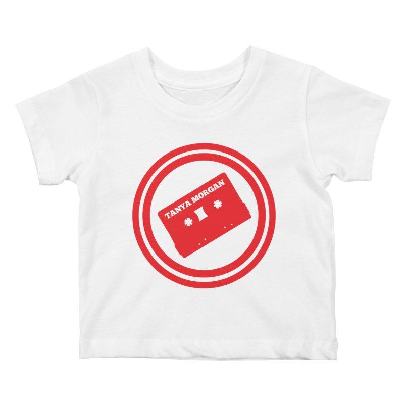 Red Tanya Morgan Logo Shirts Kids Baby T-Shirt by Tanya Morgan's Merch Shop