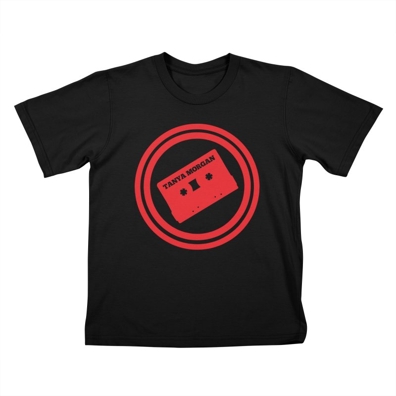 Red Tanya Morgan Logo Shirts Kids T-Shirt by Tanya Morgan's Merch Shop