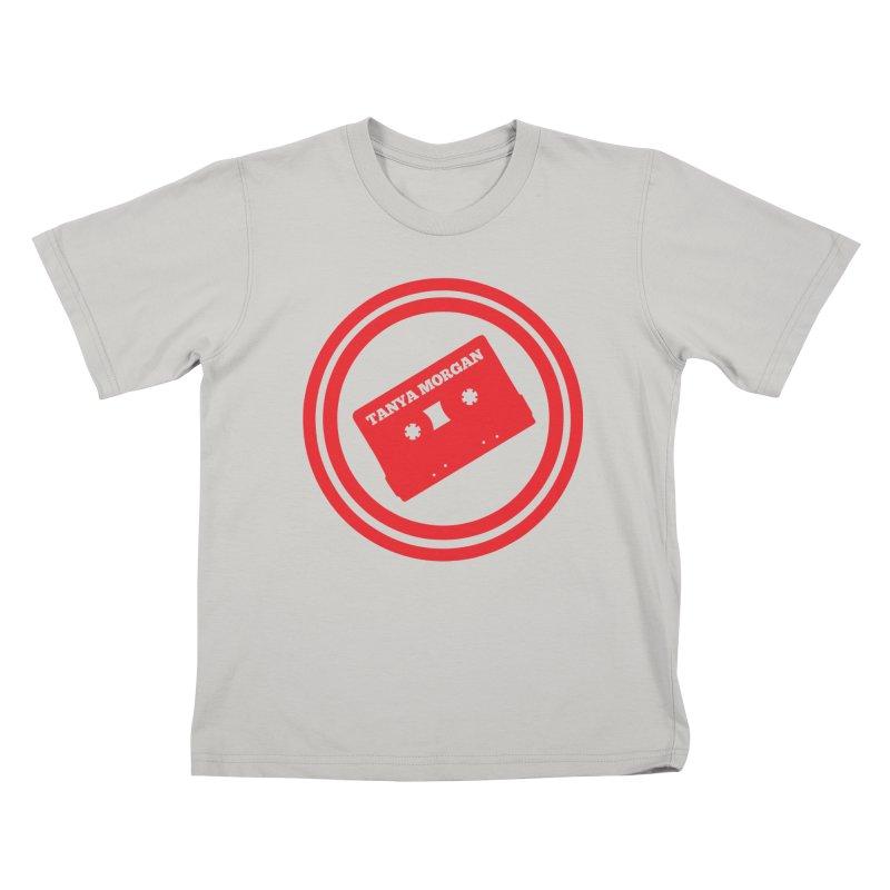 Red Tanya Morgan Logo Shirts Kids T-Shirt by Tanya Morgan's Merch Shop