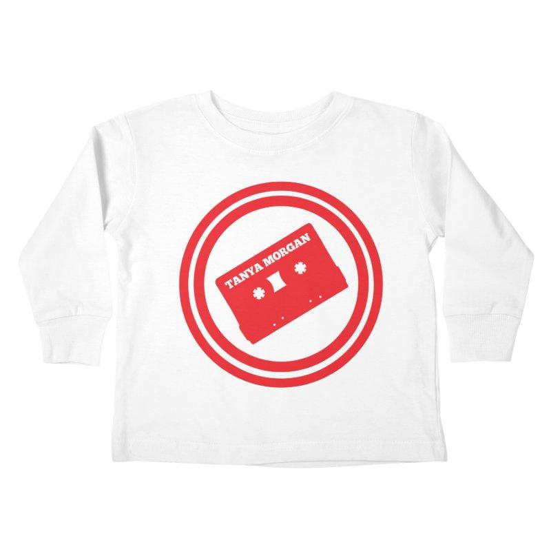 Red Tanya Morgan Logo Shirts Kids Toddler Longsleeve T-Shirt by Tanya Morgan's Merch Shop