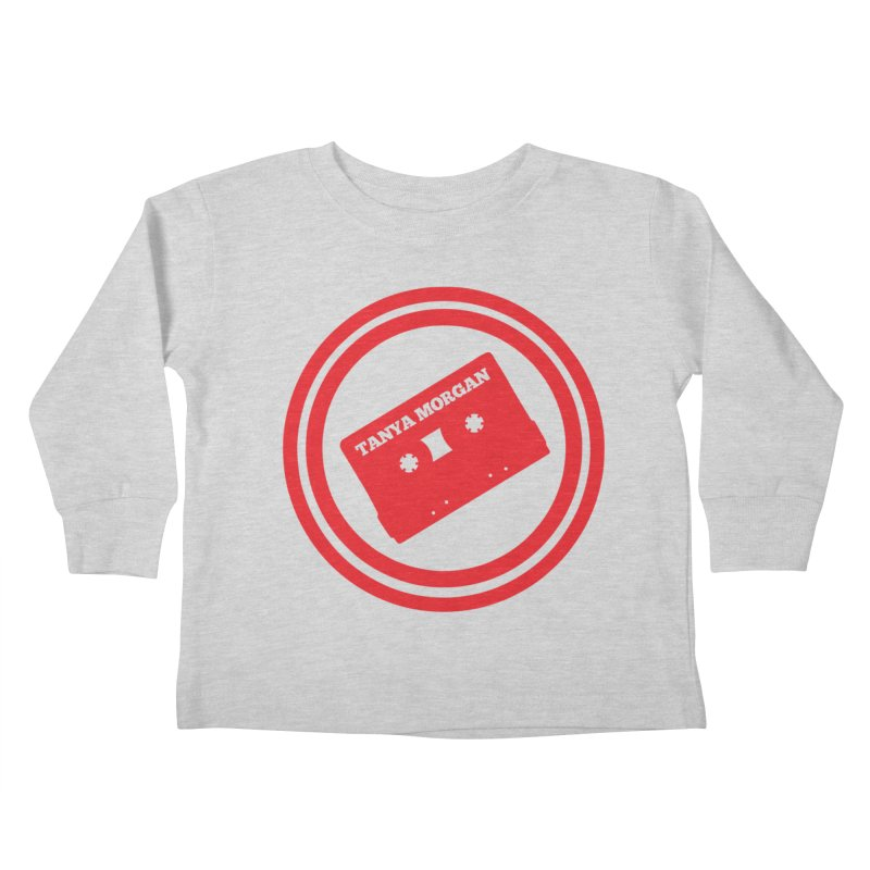 Red Tanya Morgan Logo Shirts Kids Toddler Longsleeve T-Shirt by Tanya Morgan's Merch Shop