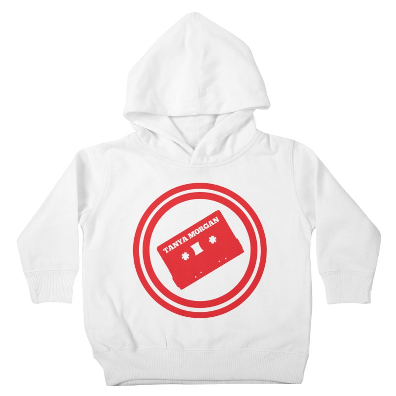 Red Tanya Morgan Logo Shirts Kids Toddler Pullover Hoody by Tanya Morgan's Merch Shop