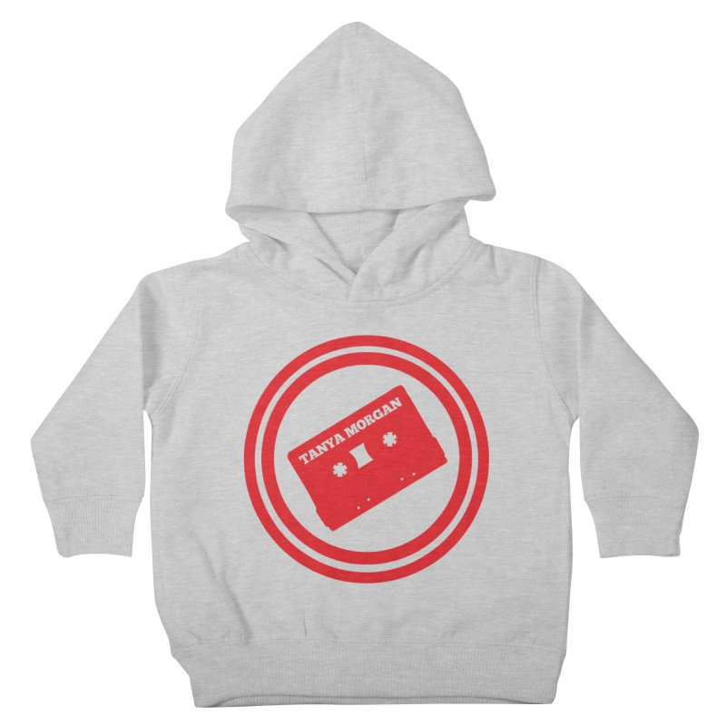 Red Tanya Morgan Logo Shirts Kids Toddler Pullover Hoody by Tanya Morgan's Merch Shop