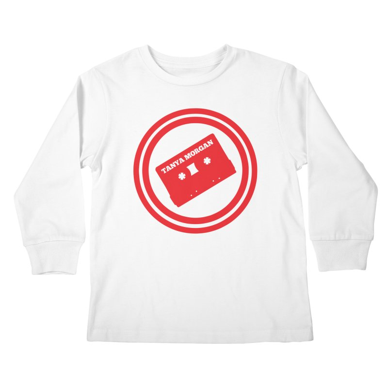 Red Tanya Morgan Logo Shirts Kids Longsleeve T-Shirt by Tanya Morgan's Merch Shop