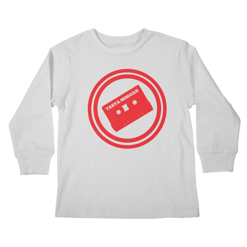 Red Tanya Morgan Logo Shirts Kids Longsleeve T-Shirt by Tanya Morgan's Merch Shop