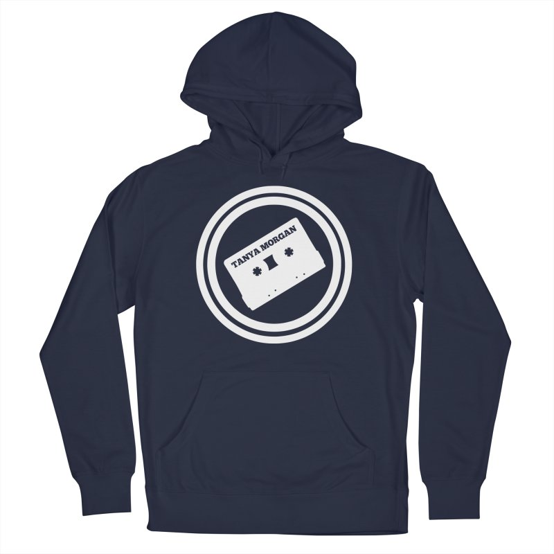 White Tanya Morgan Logo Shirts Women's Pullover Hoody by Tanya Morgan's Merch Shop