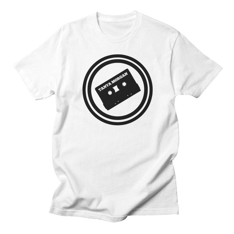 Black Tanya Morgan Logo Shirts Men's Regular T-Shirt by Tanya Morgan's Merch Shop