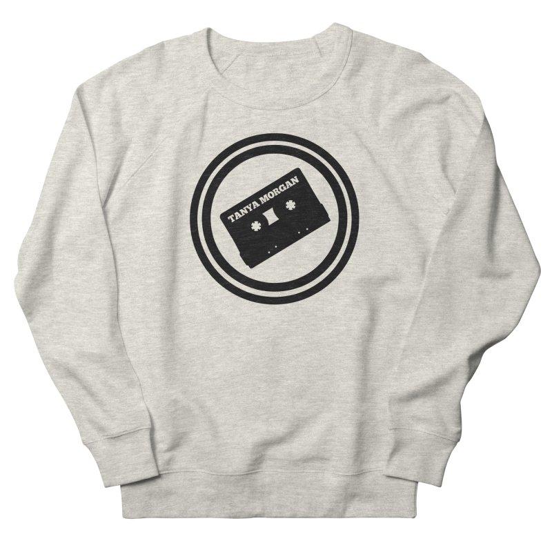 Black Tanya Morgan Logo Shirts Women's French Terry Sweatshirt by Tanya Morgan's Merch Shop