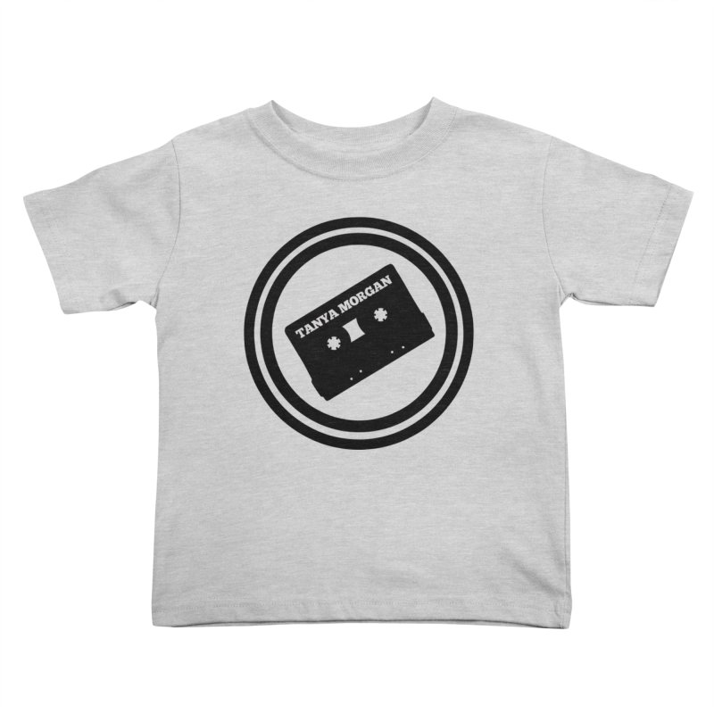 Black Tanya Morgan Logo Shirts Kids Toddler T-Shirt by Tanya Morgan's Merch Shop