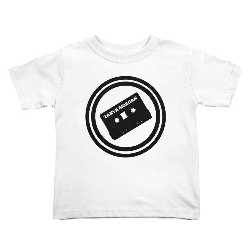 Black Tanya Morgan Logo Shirts Kids Toddler T-Shirt by Tanya Morgan's Merch Shop