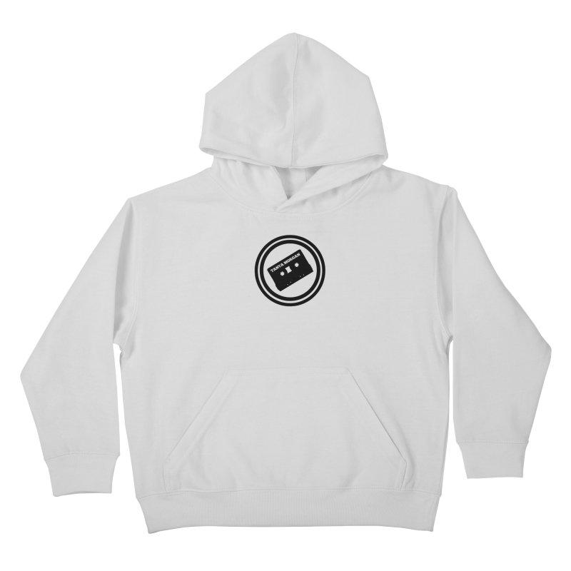 Black Tanya Morgan Logo Shirts Kids Pullover Hoody by Tanya Morgan's Merch Shop
