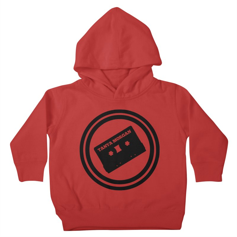 Black Tanya Morgan Logo Shirts Kids Toddler Pullover Hoody by Tanya Morgan's Merch Shop