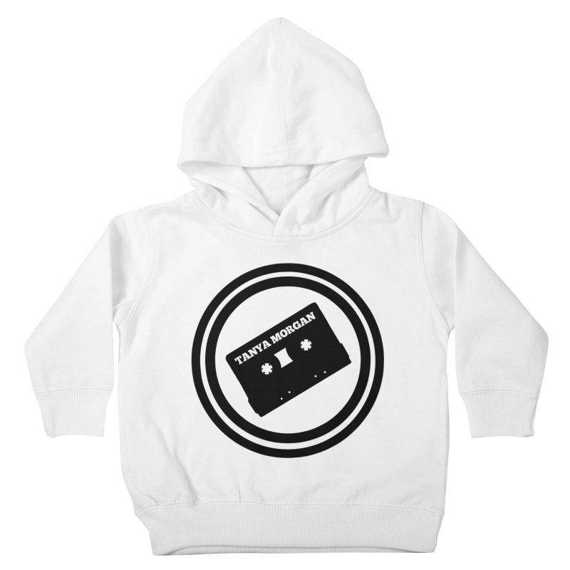 Black Tanya Morgan Logo Shirts Kids Toddler Pullover Hoody by Tanya Morgan's Merch Shop