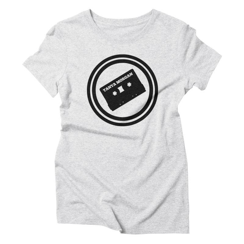 Black Tanya Morgan Logo Shirts Women's Triblend T-Shirt by Tanya Morgan's Merch Shop