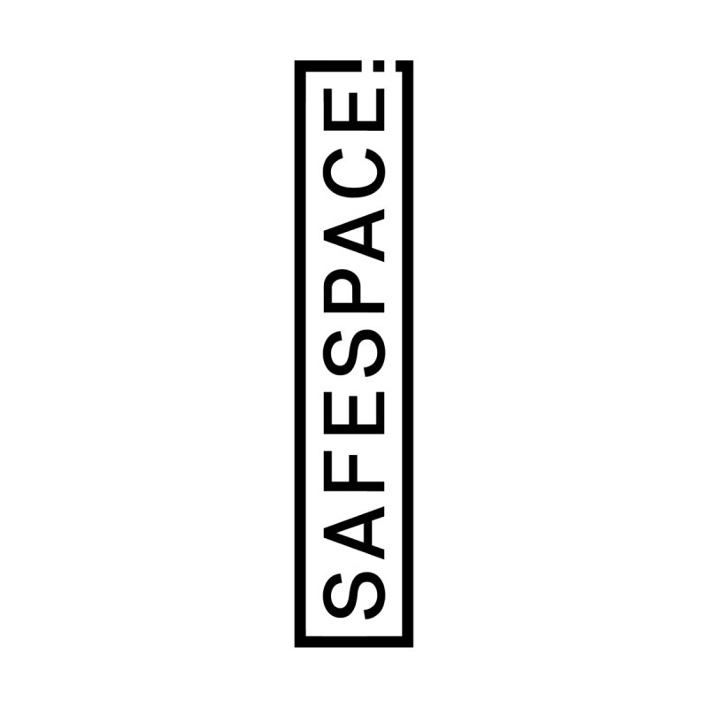 SAFESPACE Logo Shirts Men's Sweatshirt by Tanya Morgan's Merch Shop