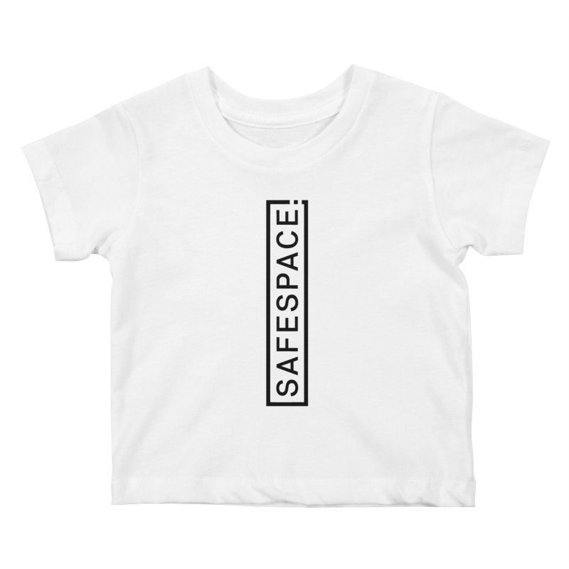 SAFESPACE Logo Shirts Kids Baby T-Shirt by Tanya Morgan's Merch Shop