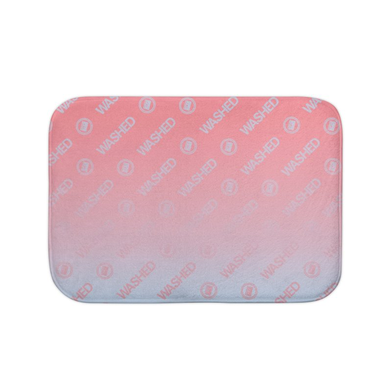 Abandoned Theme Park Washed Pattern Home & Accessories  Home Bath Mat by Tanya Morgan's Merch Shop