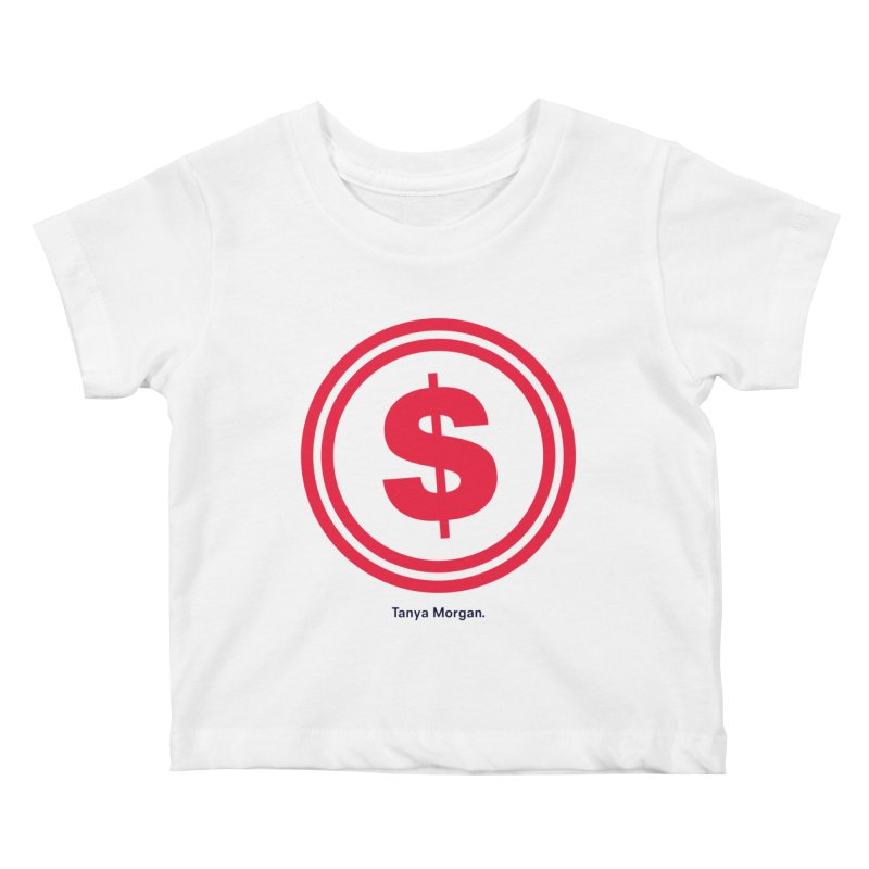 YGWY$4 Logo Shirts Kids Baby T-Shirt by Tanya Morgan's Merch Shop
