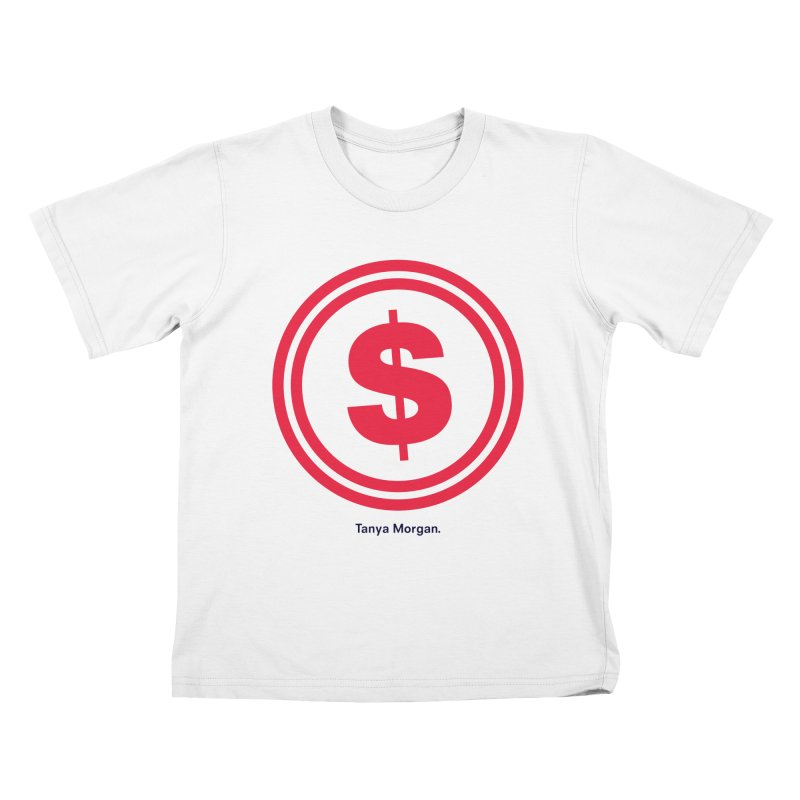 YGWY$4 Logo Shirts Kids T-Shirt by Tanya Morgan's Merch Shop