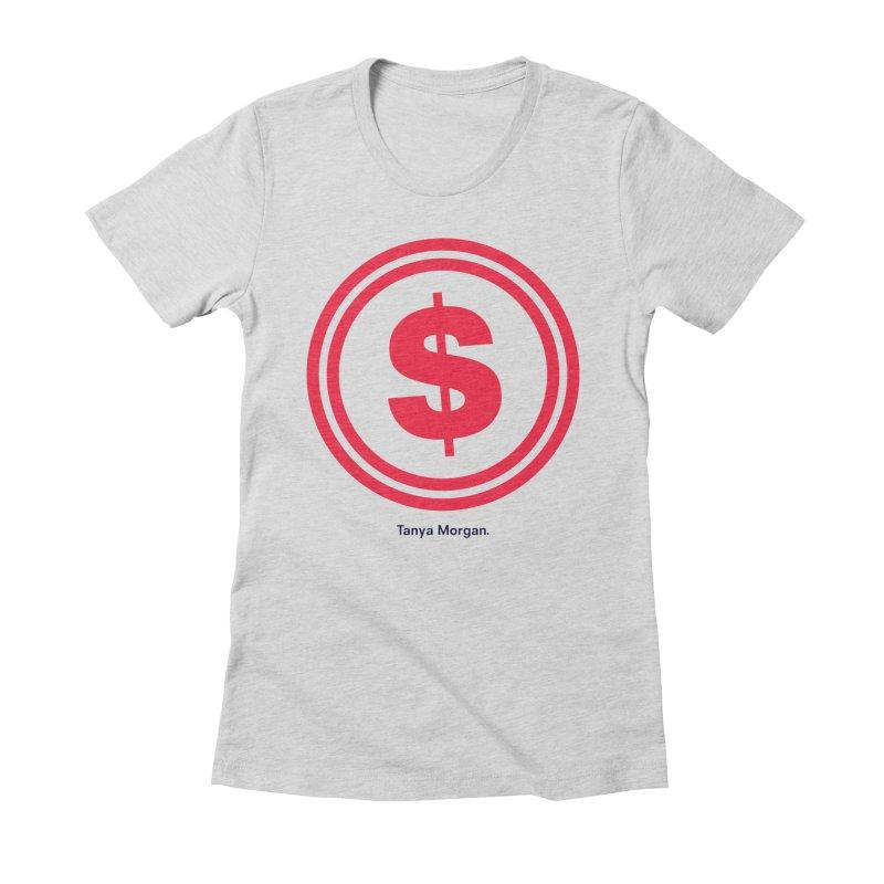 YGWY$4 Logo Shirts Women's Fitted T-Shirt by Tanya Morgan's Merch Shop