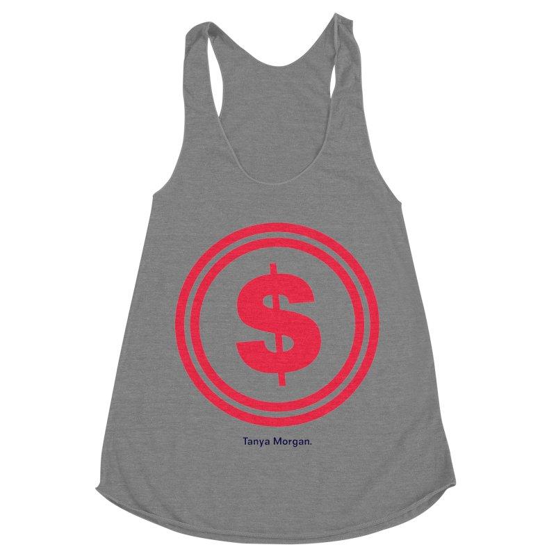 YGWY$4 Logo Shirts Women's Racerback Triblend Tank by Tanya Morgan's Merch Shop