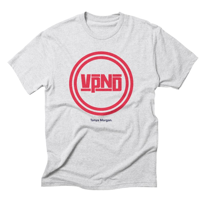 VPND Icon Shirts Men's Triblend T-Shirt by Tanya Morgan's Merch Shop