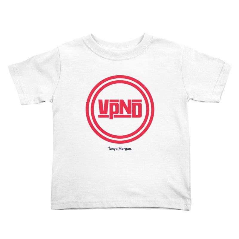 VPND Icon Shirts Kids Toddler T-Shirt by Tanya Morgan's Merch Shop