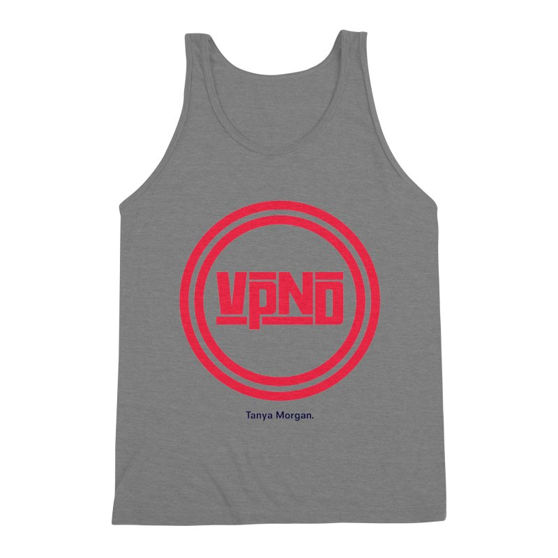VPND Icon Shirts Men's Triblend Tank by Tanya Morgan's Merch Shop