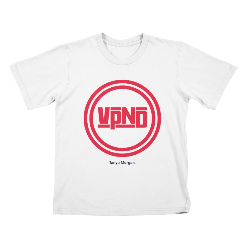 VPND Icon Shirts Kids T-Shirt by Tanya Morgan's Merch Shop