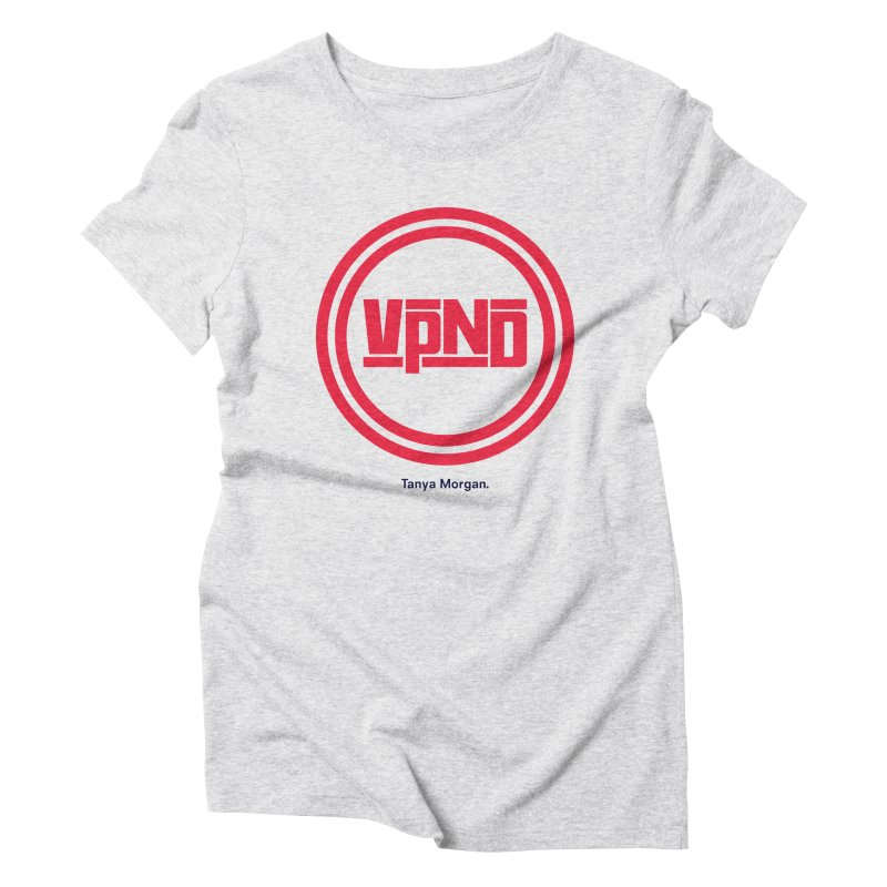 VPND Icon Shirts Women's Triblend T-Shirt by Tanya Morgan's Merch Shop