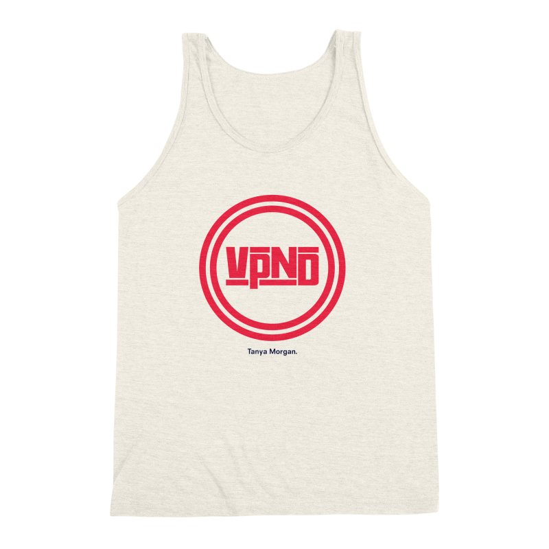 VPND Icon Shirts Men's Triblend Tank by Tanya Morgan's Merch Shop