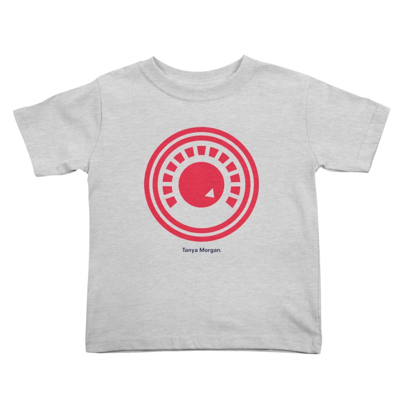 Louder Icon Shirts Kids Toddler T-Shirt by Tanya Morgan's Merch Shop