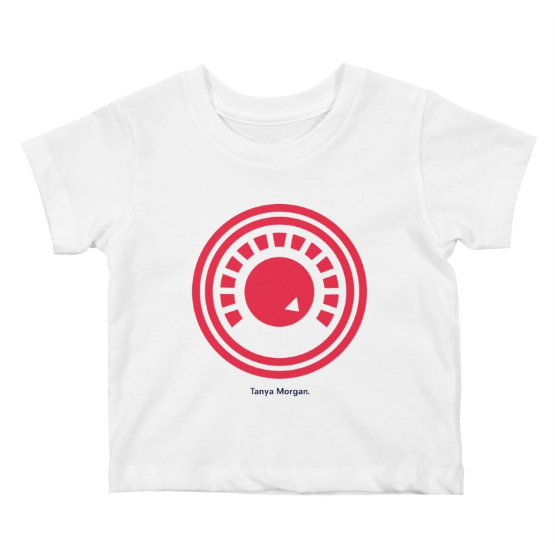 Louder Icon Shirts Kids Baby T-Shirt by Tanya Morgan's Merch Shop