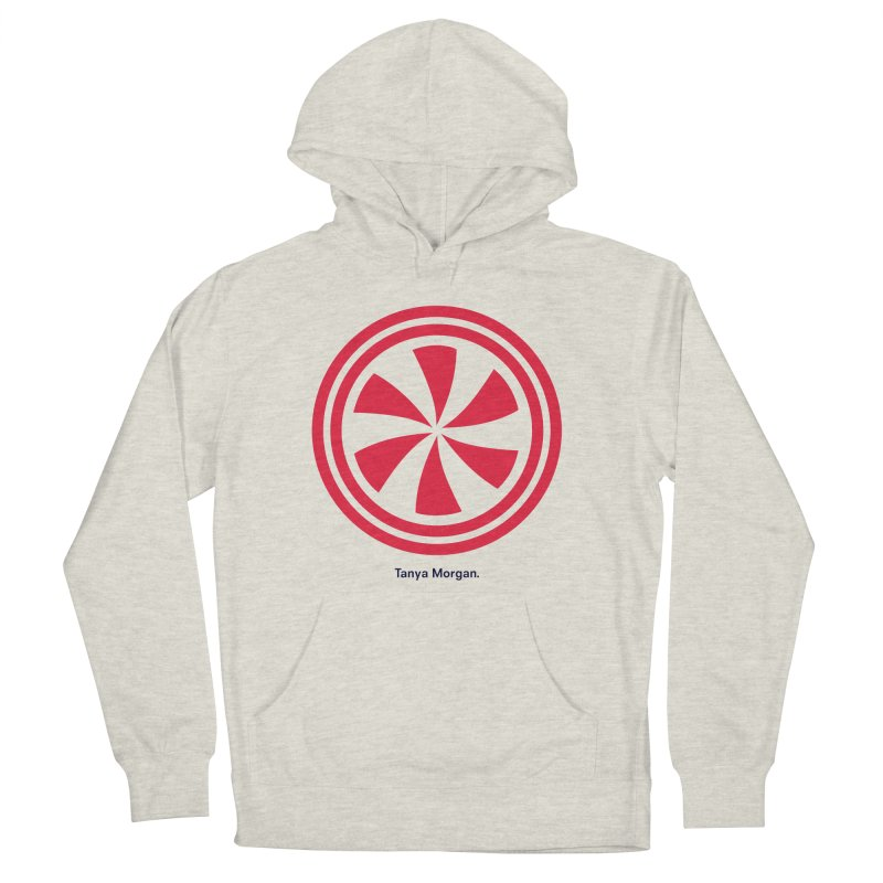 Peppermint Icon Shirts Women's French Terry Pullover Hoody by Tanya Morgan's Merch Shop