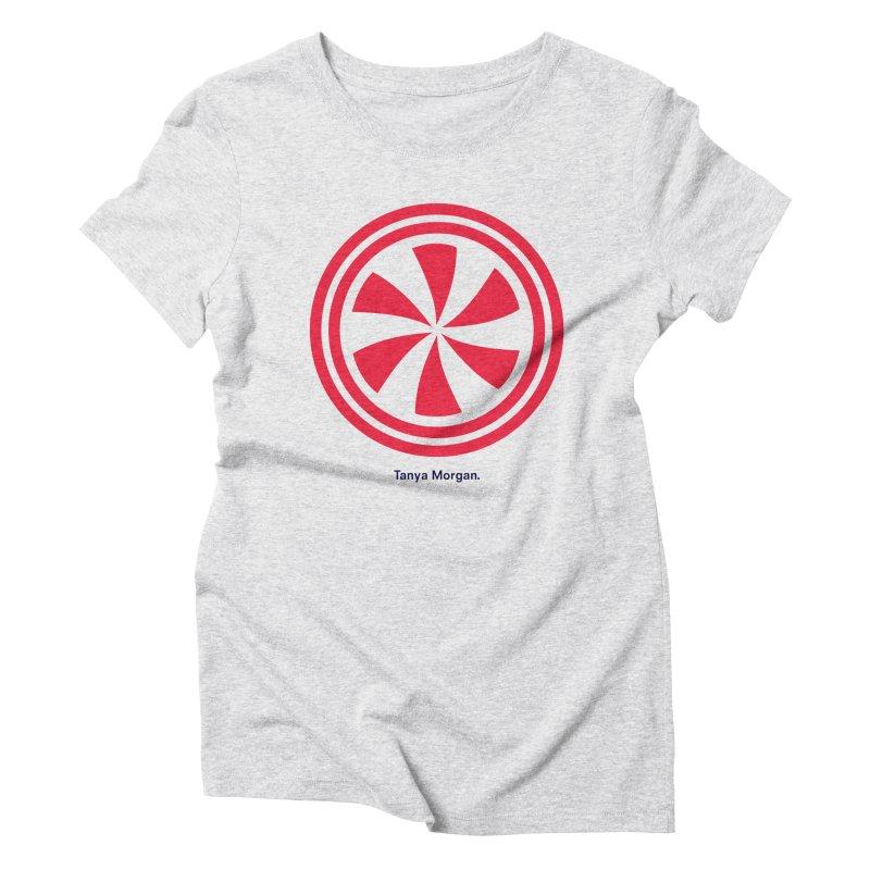 Peppermint Icon Shirts Women's Triblend T-Shirt by Tanya Morgan's Merch Shop