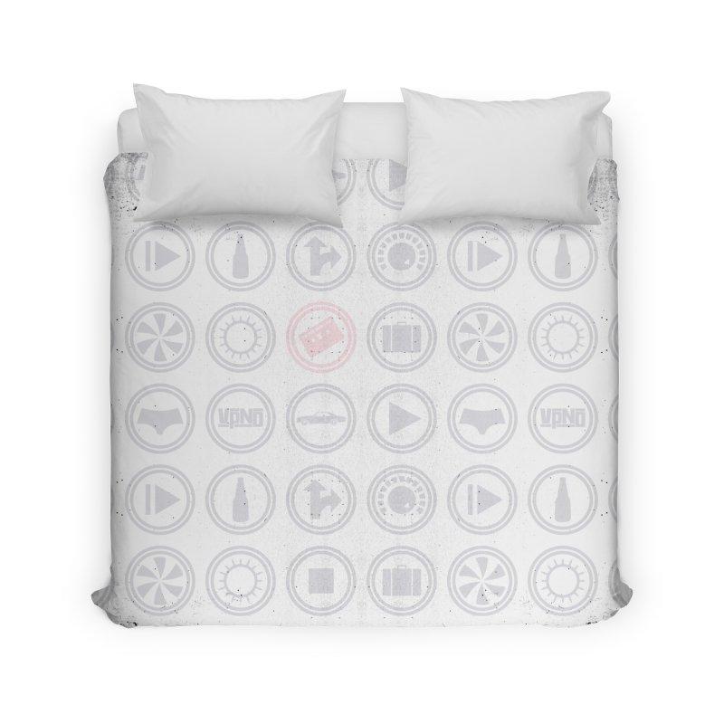 YGWY$4 Icon Pattern Home Duvet by Tanya Morgan's Merch Shop