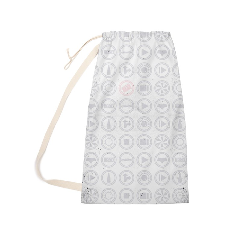 YGWY$4 Icon Pattern Accessories Laundry Bag Bag by Tanya Morgan's Merch Shop