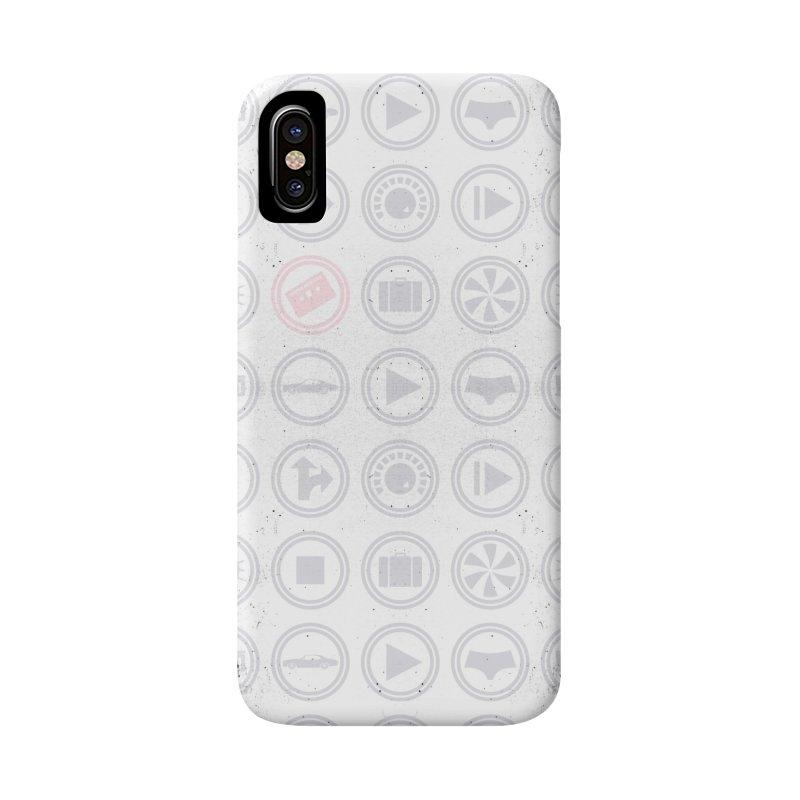 YGWY$4 Icon Pattern Accessories Phone Case by Tanya Morgan's Merch Shop