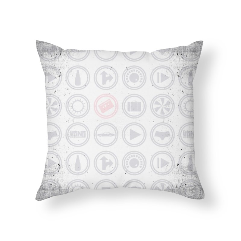 YGWY$4 Icon Pattern Home Throw Pillow by Tanya Morgan's Merch Shop