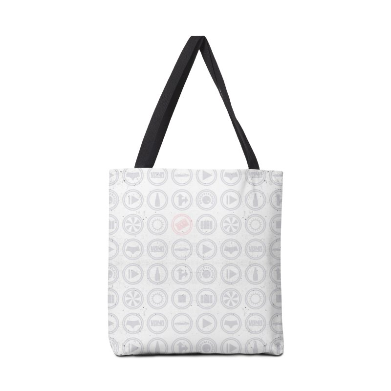 YGWY$4 Icon Pattern Accessories Tote Bag Bag by Tanya Morgan's Merch Shop